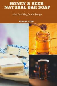 Honey & Beer Soap