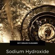 Drain Cleaner using Sodium Hydroxide